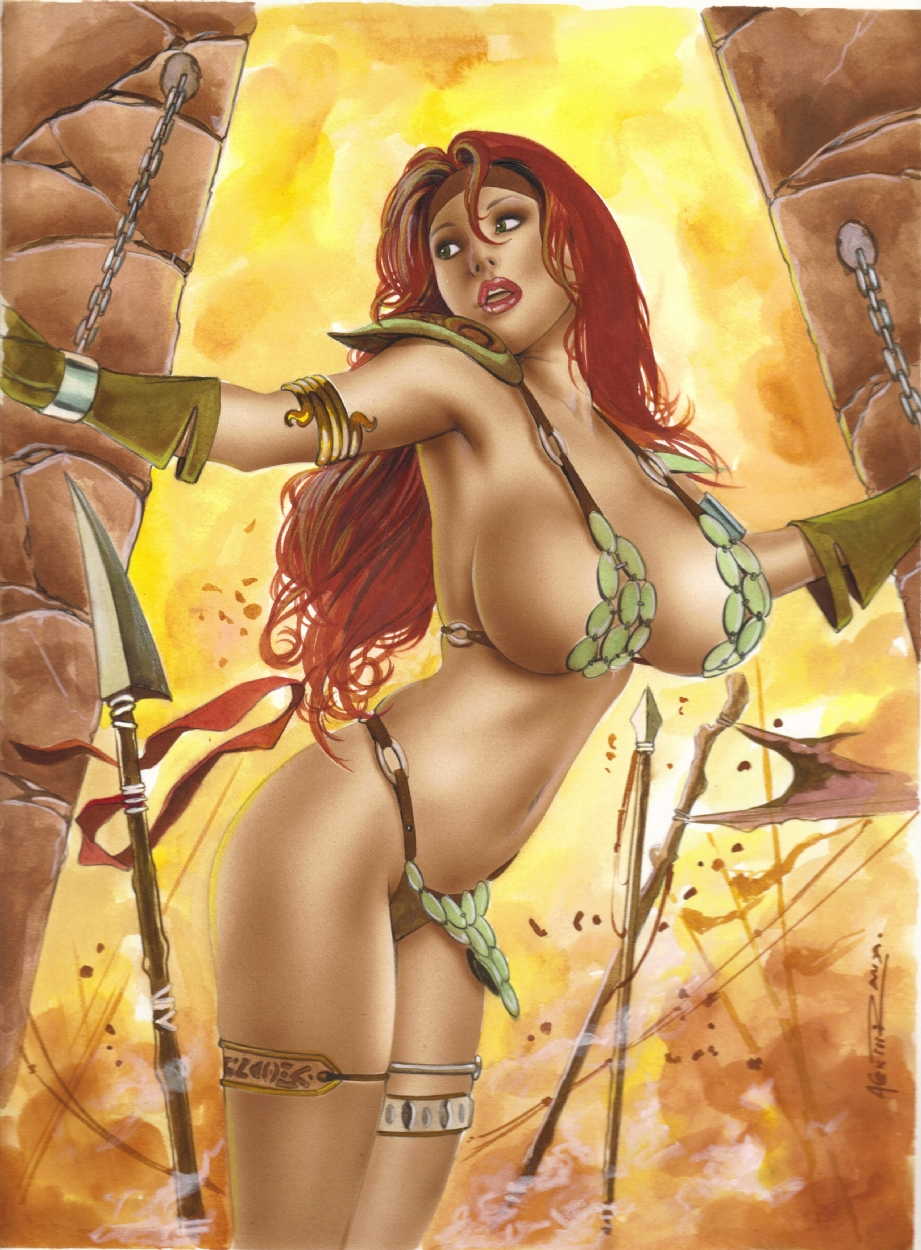 Barbarian girls sex erotic picture