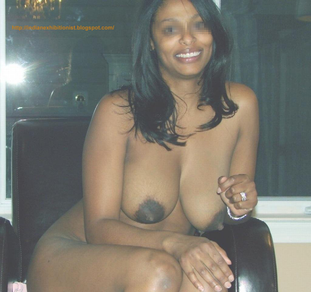 White tits with dark brown nipples