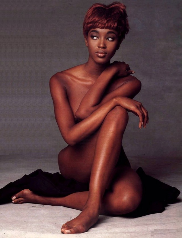 Black Panther sex model models female profile naomi campbell
