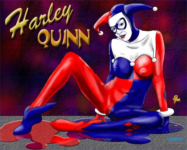 Порно классическая харли квинн