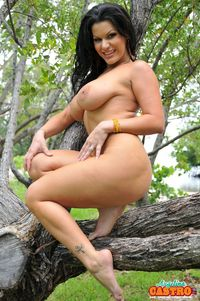 Angelina Castro porn angelina castro outside pictures strips tree outdoors