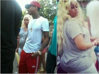 Blaque Chyna sex tyga blac chyna pregnant belly expecting child model