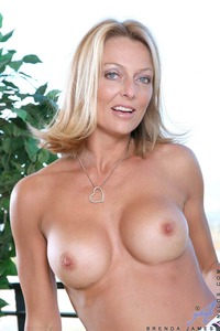 Brenda James xxx blonde ass brenda james mature milf come look brendas asshole