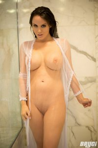 Bryci porn galleries bryci sheer shower hot