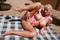 Cala Craves xxx galleries anilos blonde cala craves loves caress cock craving hairy pussy sunbathes outdoors