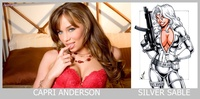 Capri Anderson porn porn star capri anderson silver sable superhero female adult film stars their comic book hero counterparts part nsfw