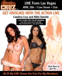 Catalina Cruz xxx april nikki daniels