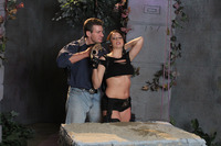 Chanel Preston xxx stories film tomb raider xxx chanel preston lee stone fight previews exclusive production stills from