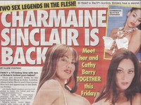 Charmaine Sinclair sex char sin meet charmaine sinclair cathy barry