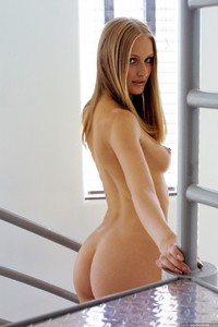 Dominique Dane sex media original dominique dane shows naked body stairway