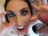 Emmanuelle London sex emmanuelle london tits facial brunette straight gallery