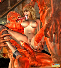Sweet Devil xxx dmonstersex scj galleries enormous green devil tiny sweet human body