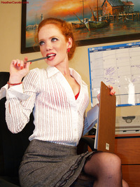 Heather Carolin porn solo heather carolin sexy office