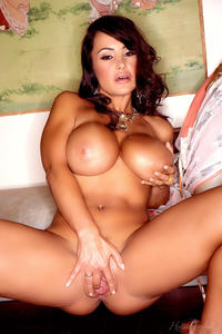 Holly Randall xxx holly queen hearts lisa ann medium shows off fake tits frilly number