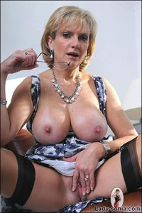 Tits lady sonia