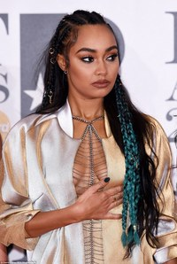 Leigh Ann sex bold leigh anne went all out when came hair adding blu tvshowbiz little mix pinnock narrowly avoids wardrobe malfunction brit awards