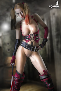 Harley Quinn porn media original via devilgirl xxx sinful eye candy posted wednesday october harley quinn