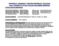Lourdes Lane xxx orig docs central arizona youth football league doc