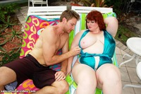Dawn Davenport porn bbw galleries gallery dawn davenport was out trying catch few rays darken skin pool when fellow bbf ace