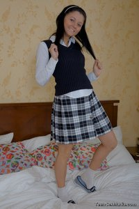 Honey Lovely sex media original lovely sweetie pie school uniform